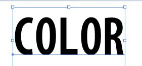 COLORの文字