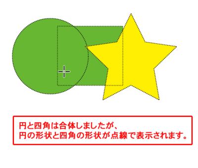 点線の輪郭