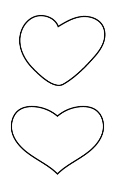 手描きのハート