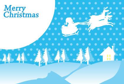 クリスマスカード素材2
