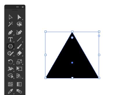 三角形を作成